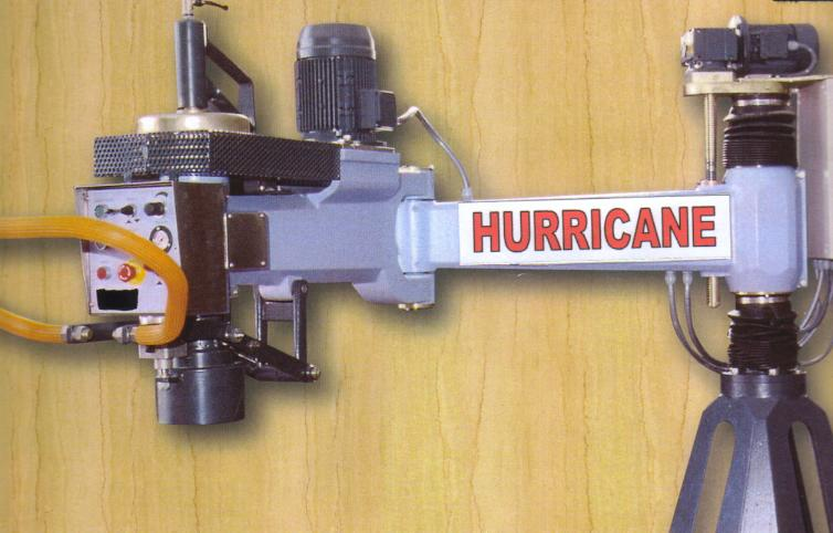 EXBRITE+HURRICANE-SINGLE ARM POLISHER